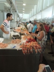Really nice indoors fish/seafood market place in Cadiz old town