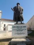 Vasco da Gama, the famous son of Sines who discovered the route to India.