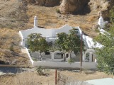 A luxury cave villa