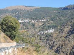 Panoramic view on Trevelez