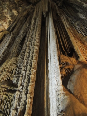 Nerja cave: largest stalactite 80 m