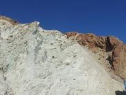 Chalk cliffs at Cabo de Gata