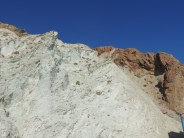 Chalk cliffs at Cabo de Gata