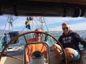 Short sailing trip (motor)