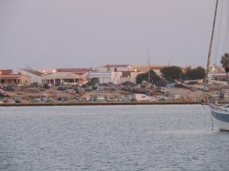 Culatra (Faro) harbor