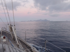 Approaching Porto Santo