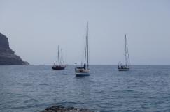 At anchor Puerto de Mogan