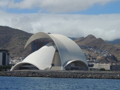 No - this is not Sydney Opera house, it's Santa Cruz Opera House, Tenerife