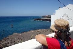 Tenerife, a view towards San Miguel Marina