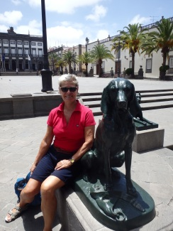 Islas Canarias means Isles of large Dogs, here is one of them