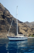 At Anchor, La Gomera