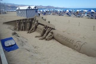 Nice sand sculptures