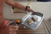 Preparing Sashimi