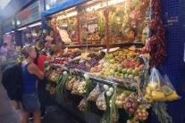 Abundance of fruit and veggies