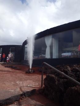 Lanzarote geyser