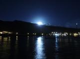 Full moon rising over Tarrafal, Sao Nicolau