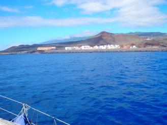 Approaching Puerto del Restinga, El Hierro
