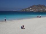Nearest sandy beach of Mindelo