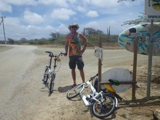 Banana powered biker