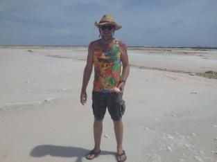 Salt is a major export business in Bonaire