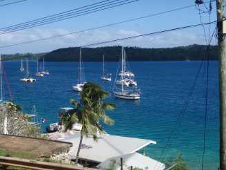 Anchorage of Neiafu, Tonga