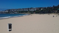 100m out of 60km beaches