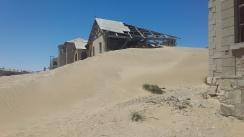 Sand Dunes reclaim